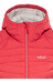 Rab Synergy Jacket Women coral red